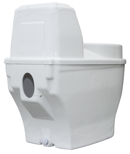 Vacuum Formed Composting Toilet System